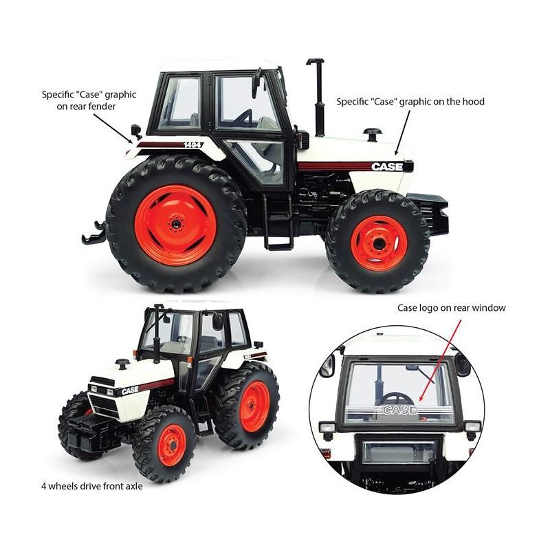 Case IH 1056 XL 4wd Tractor 1:32 britains