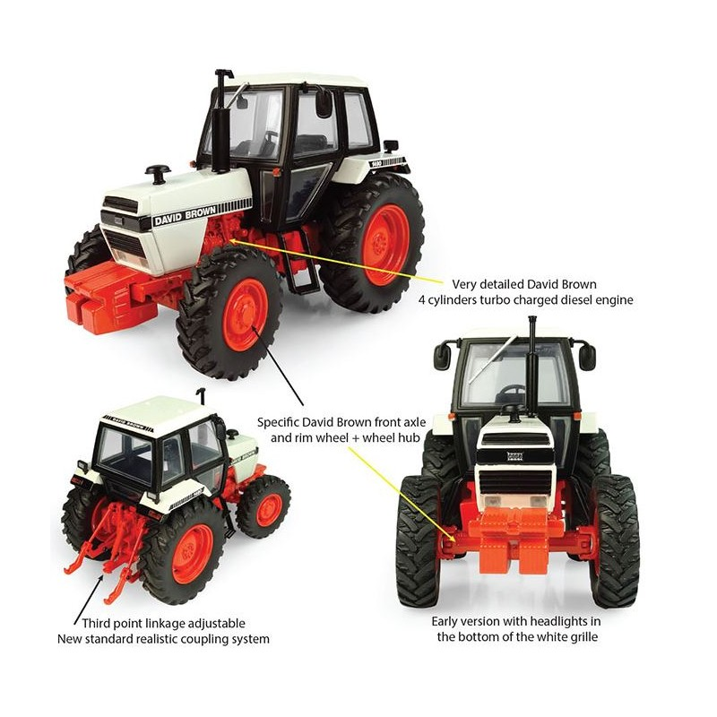 International 956 XL 2wd Tractor 1:32 britains